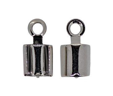 (Accessoire pièces / garnitures métalliques) calfeutrage / sangle 2 mm noir / noir nickel 100 pièces
