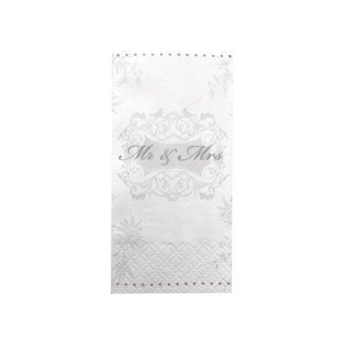 100 Taschentücher für Freudentränen auf der Hochzeit (100)