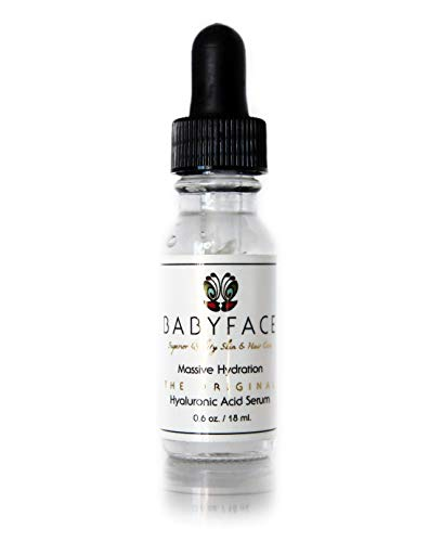 Babyface Massive Hydration Hyaluronic Acid Serum with Vitamin C & Matrixyl 3000 .6 oz. / 18 ML