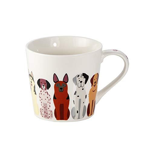 SPOTTED DOG GIFT COMPANY Tasse Hund große Kaffeetasse Teetasse Kaffeebecher mit Hundemotiv Geschenk für Hundebesitzer Hundeliebhaber Frauen Männer
