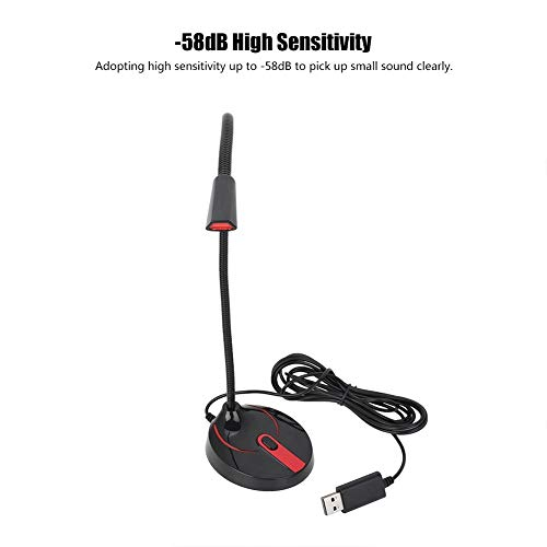 Wincal USB-Konferenzmikrofon, 360 ° Tonaufnahme Klares Kommunikationskonferenzmikrofon