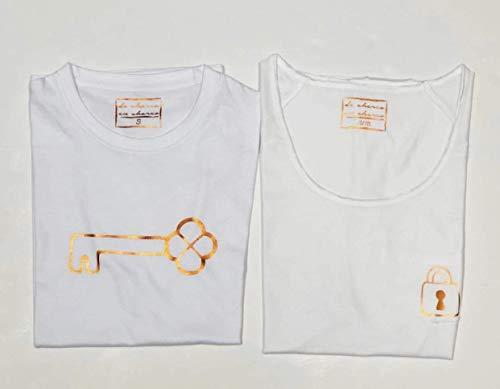 PACK Camisetas M/C Candado-Llave (Adulto + Niño/Niña o Bebé ...