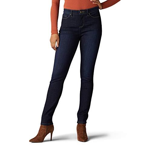 LEE Women's Sculpting Slim Fit Skinny Leg Jean, Slumber, 14