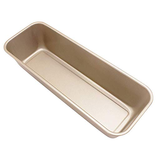 Wghz Cake Tins Loaf Tin Toast Cake Pan Oven Bakeware Carbon Steel Nonstick Baking Bread Tray for Bread Loaf Pate Toast Cakes Quiche
