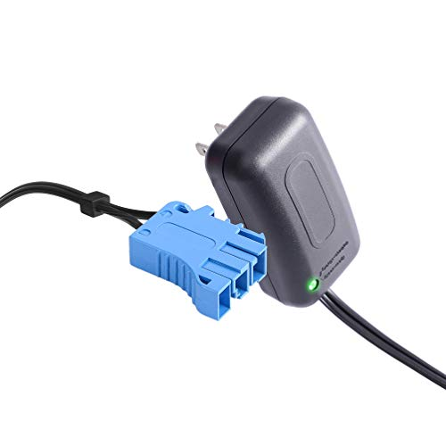 12 Volt Battery Charger for Peg Perego, 12V Charger Works with Peg-Perego John Deere Ground Force Tractor John Deere Gator XUV Polaris RZR 900 Powered Ride On Car Replacement Power