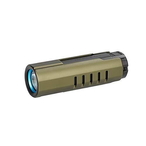 IMALENT LD70 Mini Torcia Tattica 4000 Lumen torce led alta potenza 5 modalità IPX8 Impermeabile Super Luminosa Per campeggio escursioni e emergenze(Verde)