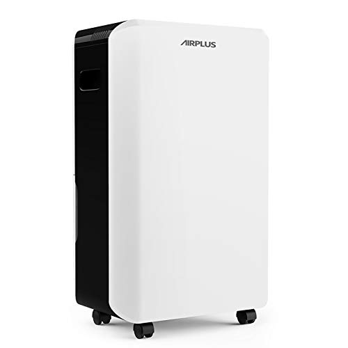 AIRPLUS 70 Pints Dehumidifier, Great Dehumidifiers for Basements, Efficient and Quick Moisture Removal with Continuous Drainage, Intelligent Control, Superior Dehumidifiers for Home - (AP1902)
