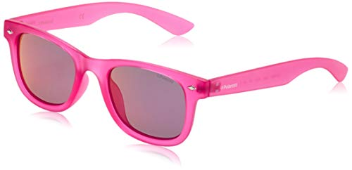 Polaroid PLD 8009/N AI IMS Gafas de sol, Rosa (Bright Pink/Grey Pink Sparkling Polarized), 45 Unisex Niños