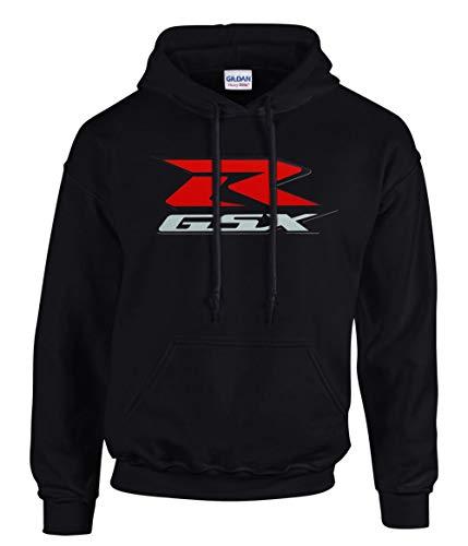 shirt19 Suzuki GSXR Schwarze Kapuzenpullover Hoodie -3811 – SW (M)