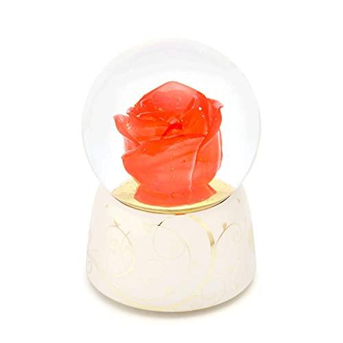Caja De Música Rosa Que Brilla Intensamente, Cajas Musicales De Bola De Cristal De Sueño, For El Cumpleaños De La Boda De Las Niñas Regalos del Día De San Valentín, Decoraciones For El Hogar Creativo