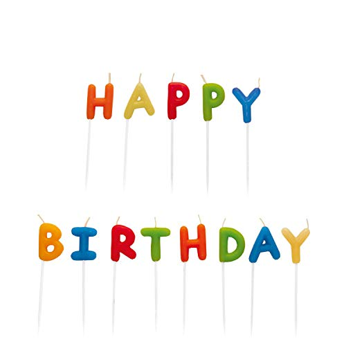 Riethmüller 550 114 - decorazione di torte, candele Set% 22% 22 Buon compleanno