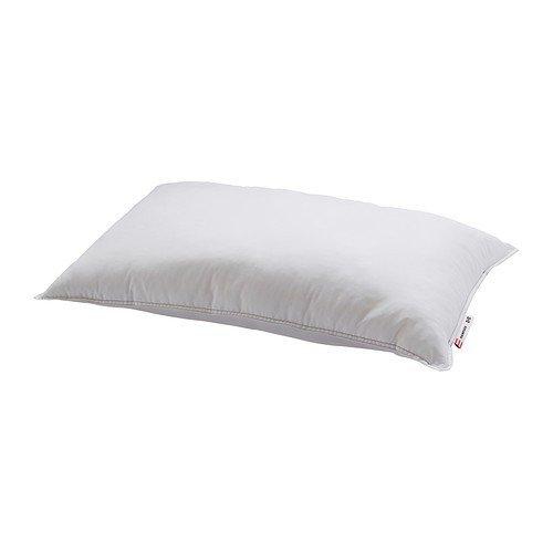 """IKEA Kopfkissen """"Hampdan"""" hochwertiges Kissen mit 40 x 80cm - weicher - maschinenwaschbar - geeignet für Stauballergiker - 100 Synthetik-Füllung"""