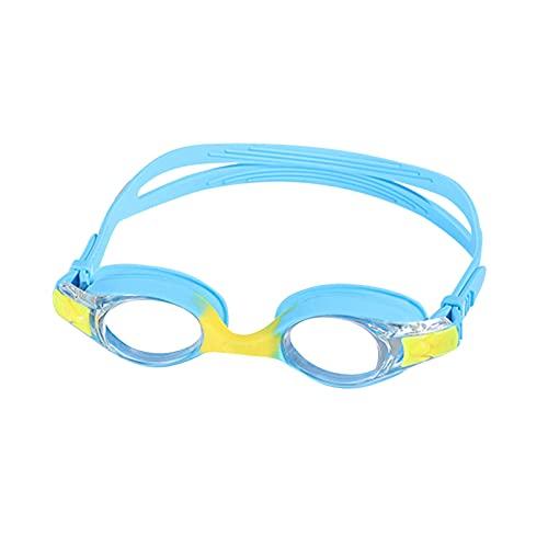YWSZY Gafas Natacion, Gafas de natación Ajustables Impermeable y Anti-Niebla Niños Natación Gafas Adolescente Gafas de natación (Color : Blue)