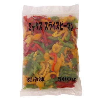 大冷 三色スライスピーマン 500g【冷凍】