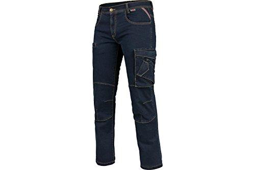WÜRTH MODYF Arbeitsjeans Multipocket Stretch X blau: Die Bequeme Allwetter Arbeits-Jeanshose ist in der Größe 58 erhältlich. STYLISCH, MODERN, ZEITLOS!