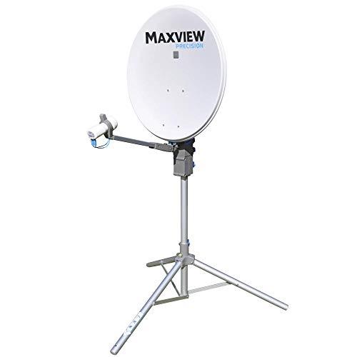 Maxview - Sistema de Antena parabólica con Doble LNB (55 cm)