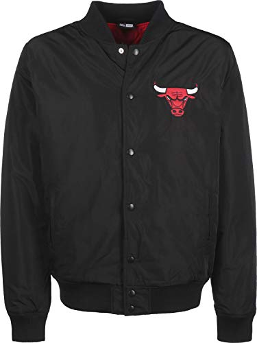 New Era Giacca NBA Team Logo Jacket Chicago Bulls - Black - L