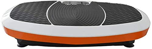 ZHANGKANG Vibrationstrainer Professionelle Vibrationstrainer mit 3D-Spiral-Technologie Massage Power Plates Trainer Fitness Geeignet for Exercise (Farbe: Orange, Größe: 78x40x14cm)