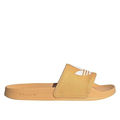 adidas Adilette Lite, Slide Sandal Mujer, Hazy Orange/Footwear White/Hazy Orange, 39 EU