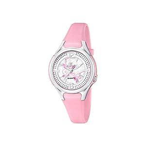 Calypso–Reloj de Cuarzo para Mujer con Correa de plástico de Plata