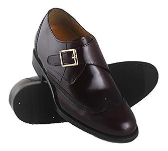 Zerimar Zapatos con Alzas Hombre  Zapatos de Hombre con Alzas Que Aumentan su Altura + 7 cm Zapatos con Alzas para Hombres   Zapatos Hombre Vestir