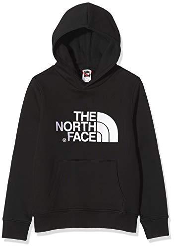 The North Face Y Drew Peak Po HDY, Felpa Unisex Bambini, TNF Black/TNF Black, S