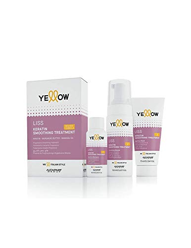 Yellow Liss Keratin Smoothing Treatment