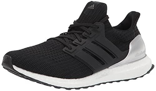 adidas Men's Ultraboost 4.0 DNA Trail Running Shoe, Black/Black/Silver Metallic, 8