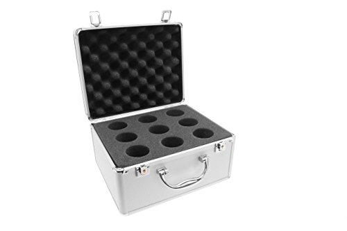 TS-Optics Aluminium Okularkoffer für bis zu 9 Okulare mit 1,25