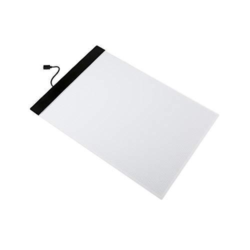Led Light Tracing Pad A4 Led Escritura Pintura Caja De Luz Tablero De Trazado Iluminante Boceto Tabla Penetrante Tableta Gráfica Tableta De Dibujo