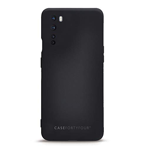 Case FortyFour No.1 para OnePlus Nord - Funda delgada y ligera para teléfono - Negro