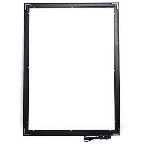 YIYIBYUS A1 33x24inch LED Light Box Movie Poster Display,12V 110V Advertising Backlit Movie Poster Art Picture Frame for Cinemas, Hotels, Photo Studios, Restaurants, Black Aluminum Profile