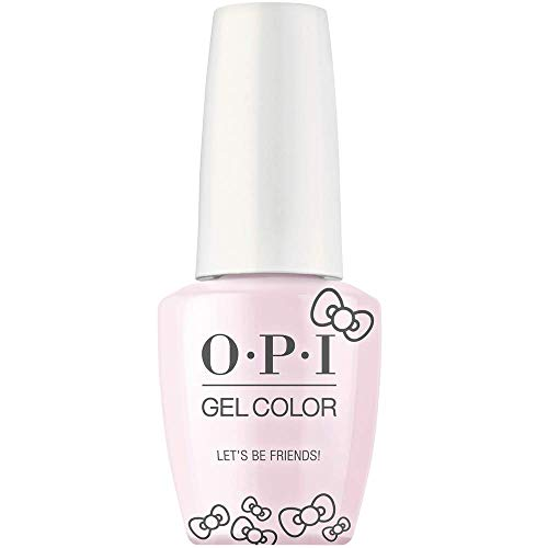 """OPI GELCOLOR SEMI PERMANENTE HELLO KITTY HOLIDAY 2019""""LET'S BE FRIENDS!"""" GC H82 15 ml/0,5 FL.OZ."""