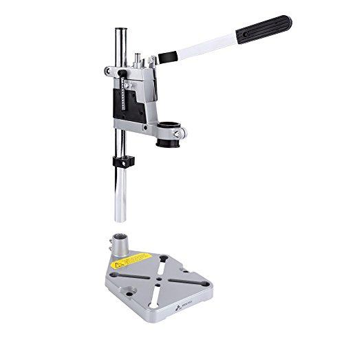 Soporte taladro vertical,Drill press stand,Torre para taladro,Soporte taladro columna,Mobile drill stand Bench drill para taladros eléctricos con diámetro de 43 mm o 38 mm 150 * 150 * 400 mm