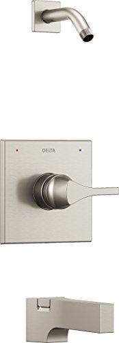 Delta grifo t14474-sslhd zura Monitor 14Series bañera trim-less alcachofa de ducha, inoxidable