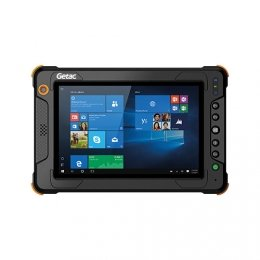 POS-Cardsysteme Getac EX80 LTE, BT, WLAN, 4G, GPS, RFID, Win. 10 Pro, ATEX.