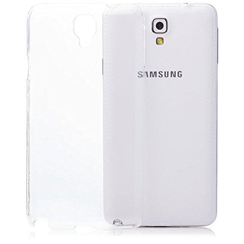 Samsung Galaxy Note 3 NEO   iCues Ultra Slim Case trasparente   in più di luce molto sottile foglio di protezione trasparente della pelle Sereno Sereno protettivo protezione Coperchio Coperchio [Screen protector Compreso] Custodia Cover Case Tasca Borsa