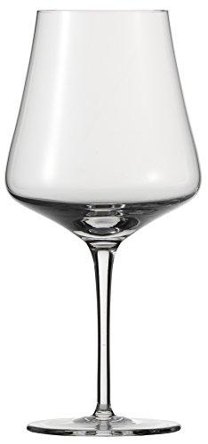 Schott Zwiesel FINE Burgunder-Glas, Kristallglas, farblos, 106 mm, 6