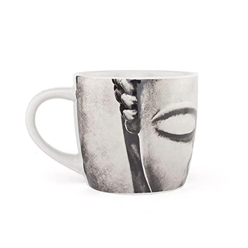 Bodhi YogiMug Keramiktasse 'NamasTEA'   Keramiktasse (grau) mit Design-Print   nicht nur für Yoga-Fans   Kaffeetasse, Teetasse, Chai   Geschenk   300...