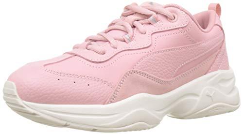 PUMA Damen Cilia Lux Sneaker, (Bridal Rose Silver-Pastel Parchment 04), 39 EU