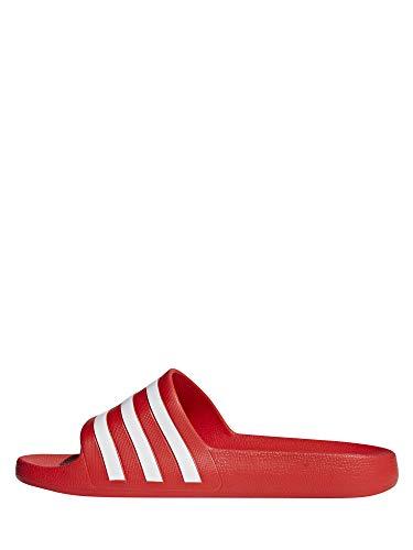 Adidas Adilette Aqua, Scarpe da Spiaggia e Piscina Unisex-Adulto, Multicolore (Multicolor 000), 43 EU