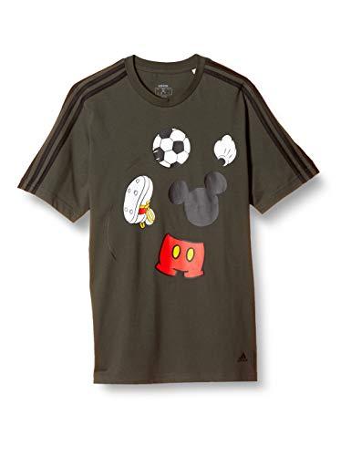 [アディダス] 半袖 Tシャツ ディズニー サッカー 半袖Tシャツ IXV79 メンズ レジェンドアース(GF3240) 日本 J/M (日本サイズM相当)