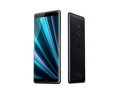 """Sony Xperia XZ3 - Smartphone con display OLED da 15,2 cm (6""""), SIM singola, 64 GB di memoria interna e 4 GB di RAM, tecnologia TV BRAVIA, IP68, Android 9.0, colore: Nero"""