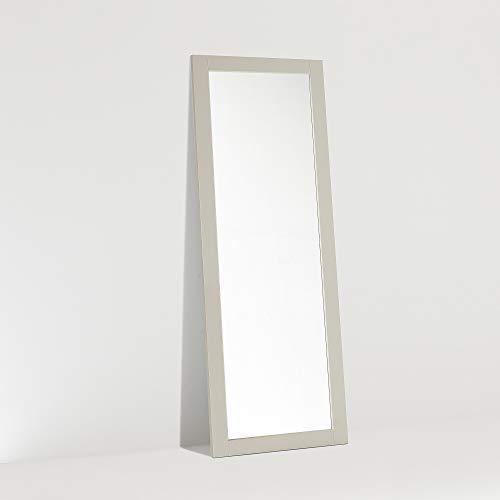 ARHome Specchiera da Terra, 160 x 60, Tortora, Specchio Parete Muro, Made in Italy