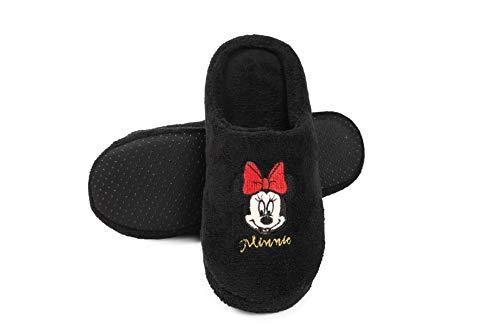Disney - Damen Slipper Minnie Hausschuhe Frauen