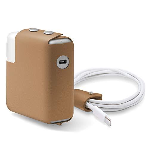 Capa de couro para MacBook Charger da Elago, projetada para MacBook Pro de 16 polegadas, 15 polegadas