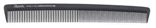 Jäneke Universalkamm extra lang 55819 Carbon-Kamm ca 22 cm (antistatisch) Haarkamm feine und weite Zahnung (819)
