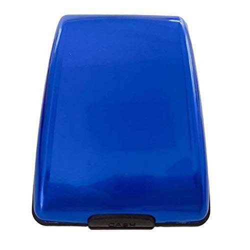 cottonlilac Secure Cash And Cards Wallet Aluminum Wallet Multi-Function Card Case Aluminum Bank Case Fashion Wallet
