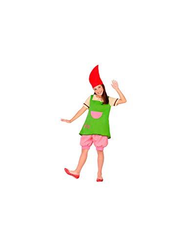 DISBACANAL Disfraz de Duende para niña - -, 3-4 años