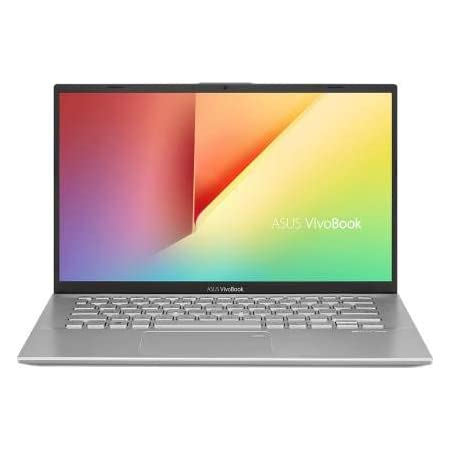 ASUS VivoBook 14 X412UA-EK319T Intel Core i3 7th Gen 14-inch FHD Thin and Light Laptop (4GB RAM/1TB HDD/Windows 10/Integrated Graphics/FP Reader/1.50 Kg), Transparent Silver